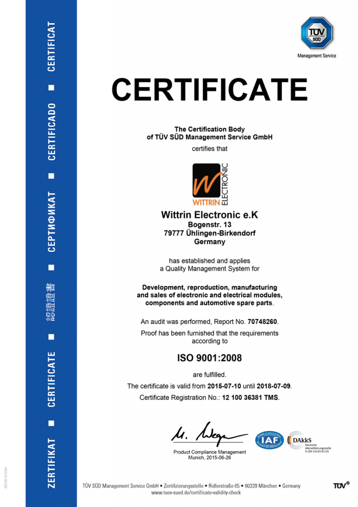 DIN ISO 9001:2008 English